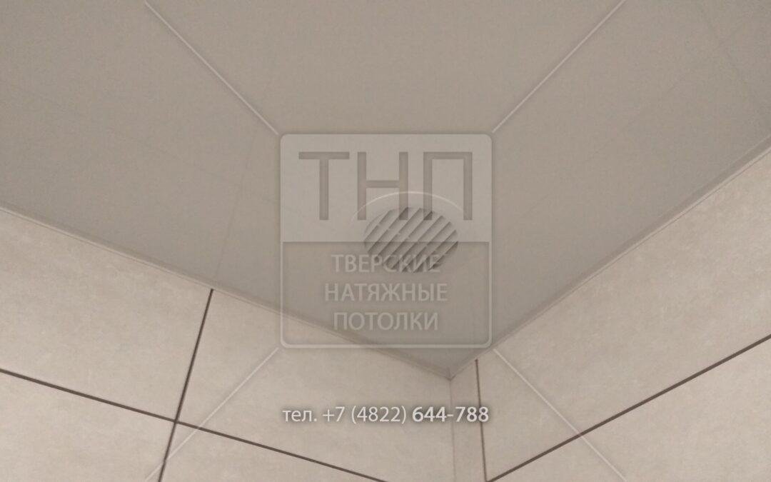 Вентиляционная вытяжка в натяжном потолке