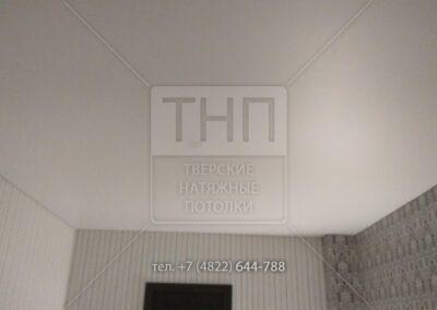 До и после – Натяжной потолок в «сталинке»