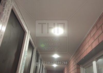 Тканевый потолок «Descor» на балконе